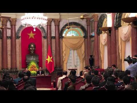 Bài phát biểu Cty Tú Anh trước chính phủ